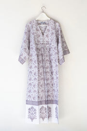 Nest Factory Lounging Maxi Dress Lavender Flower
