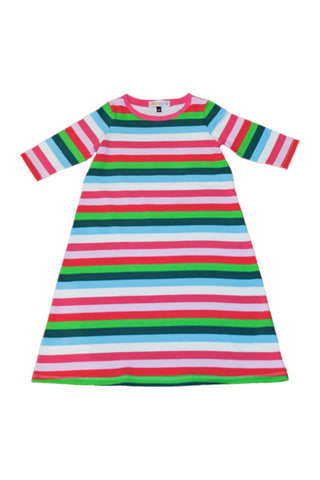 KiitosKids Autumn Stripe Kids Nightgown