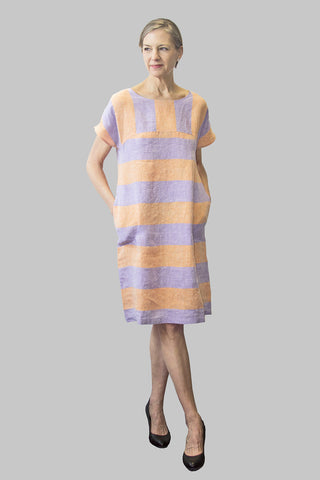 Ritva Falla Niin 1 Dress Lilac/Orange