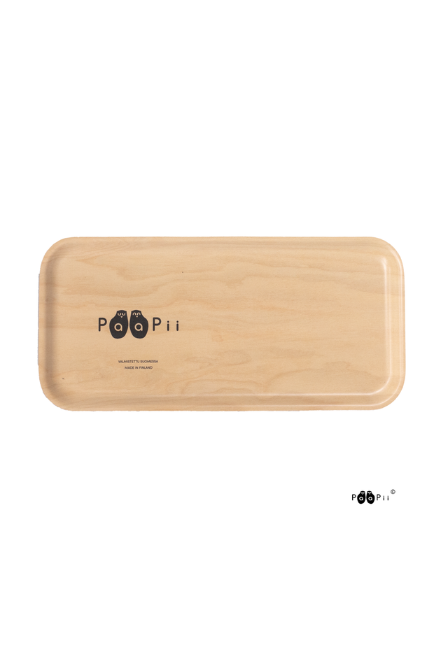 PaaPii Moose Rectangular Tray Black