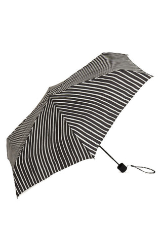 Marimekko Piccolo Mini Manual Umbrella Black/White