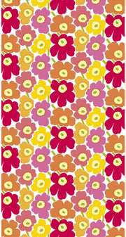Marimekko Marimekko Pieni Unikko 2 Fabric Pink/Red/Orange - KIITOSlife - 1
