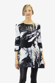Ratia Espa Pisara Tunic Black/White