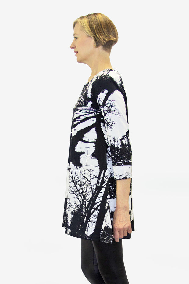 Ristomatti Ratia Espa Pisara Tunic Black/White