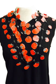 Annemieke Broenink Annemieke Broenink Poppy Necklace Red - KIITOSlife - 3