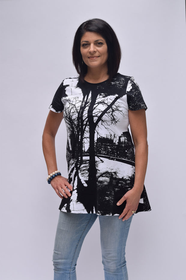 Ratia Espa Pouta T-Shirt Black/White