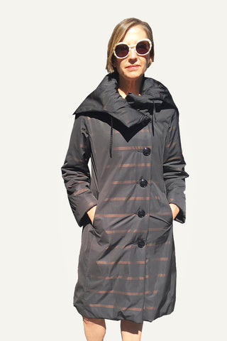 Ritva Falla Silva Coat Black/Copper