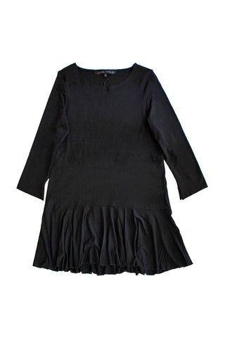 Ritva Falla Spiga Tunic Dress Black