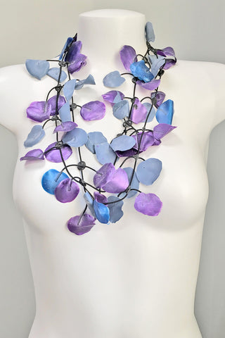 Annemieke Broenink Poppy Necklace Purple/Blue