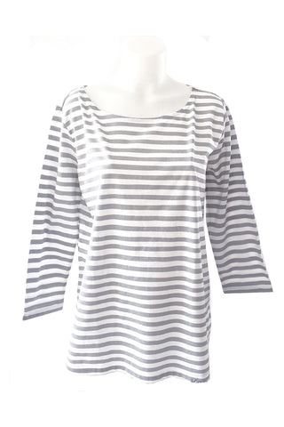 See Design Karma Stripe Shirt Grey/White