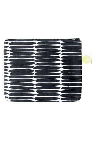 See Design Large Coin Purse Basket Black/White
