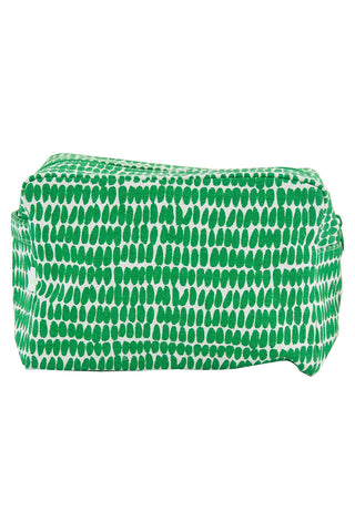 7f0ee39283 See Design Large Cosmetic Bag Seeds Kelly White