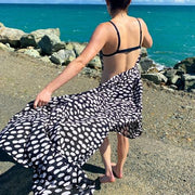 See Design Cheetah Sarong Black