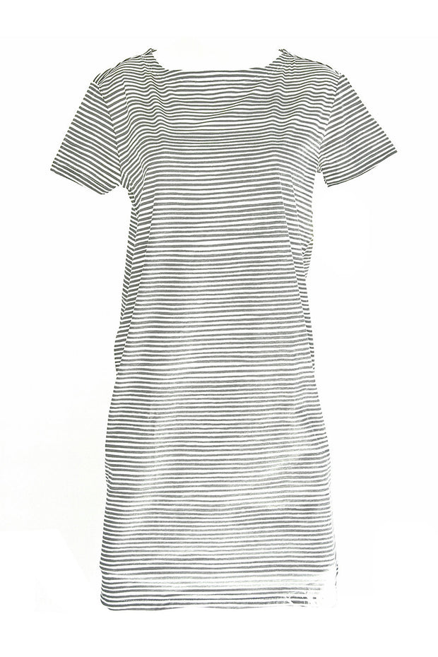 See Design See Design Strings Dress Grey/White - KIITOSlife