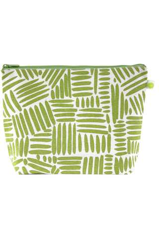 See Design Travel Pouch X-Large Bag Path Green/White