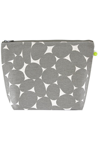 See Design Travel Pouch X-Large Bag Stones Grey/White