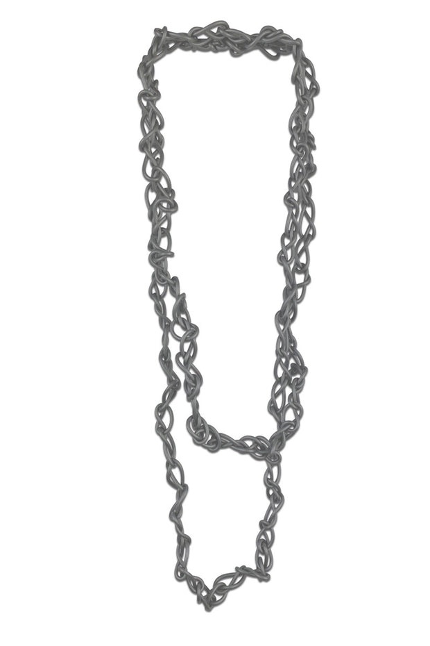 Frank Ideas Chaotic Necklace Silver