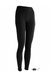 PaaPii Sorja Organic Cotton Jersey Leggings Black