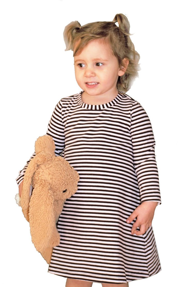 KIITOSlife KiitosKids Baby Stripe Kids Dress - KIITOSlife - 2