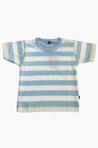 Ristomatti Ratia Kids T-Shirt Blue/White