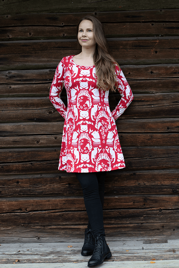 PaaPii Gates of Pohjola Organic Cotton Jersey Tunic