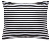 Marimekko Tasaraita Euro Twin Bedding Black/White - KIITOSlife - 2