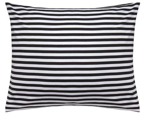 Tasaraita Euro Twin Bedding Black/White
