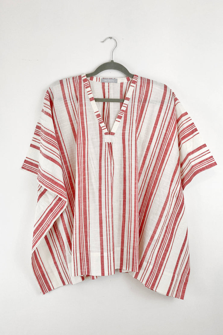 Nest Factory Kaftan Top Red Stripe