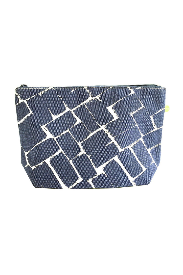 See Design See Design Travel Pouch Large Bag Weave Ink/White - KIITOSlife