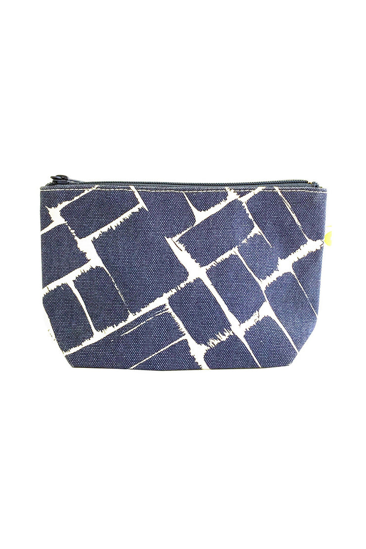 See Design See Design Travel Pouch Small Weave Ink/White - KIITOSlife