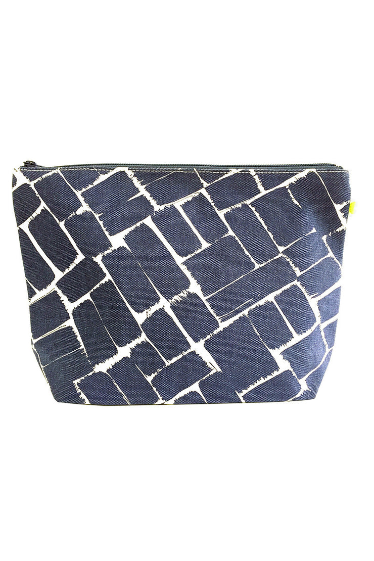 See Design See Design Travel Pouch X-Large Bag Weave Ink/White - KIITOSlife