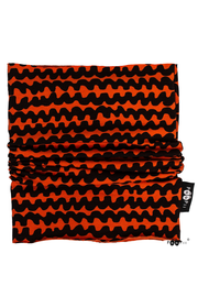 PaaPii Haloo Organic Cotton Tube Scarf Rust