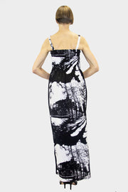 Ratia Espa Tuuli Maxi Dress Black/White