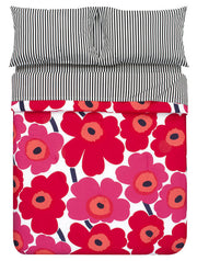 Marimekko Unikko/Pieni Unikko US Sized Bedding Red - KIITOSlife - 3