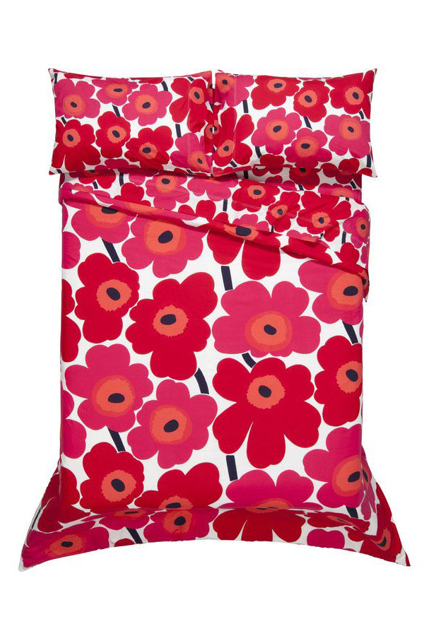 Unikko/Pieni Unikko US Sized Bedding Red