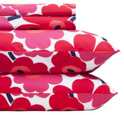 Marimekko Unikko/Pieni Unikko US Sized Bedding Red - KIITOSlife - 5