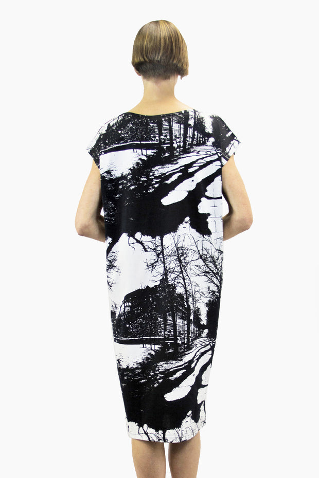 Ristomatti Ratia Espa Usva Dress Black/White