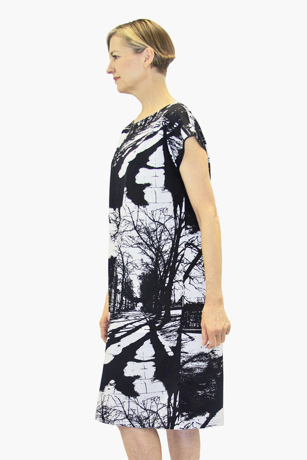 Ratia Espa Usva Dress Black/White
