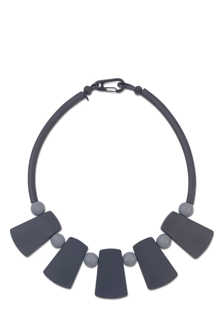 Frank Ideas Warrior Necklace Black/Grey