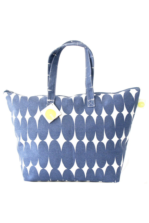See Design See Design Weekender Bag Pod Blue/White - KIITOSlife