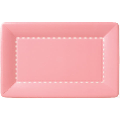Zing Paper Dinner Plates Soft Pink