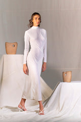 Khoi Body Turtleneck Dress