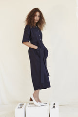 On-grown Sleeve Jumpsuit