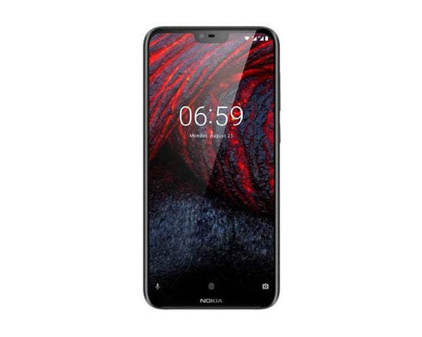 NOKIA MOBILE 6.1 PLUS 4GBRAM-64GB BLACK