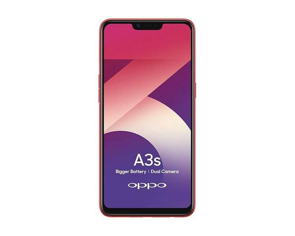 OPPO MOBILE A3S 2GB RED