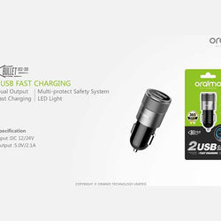 ORAIMO CHARGER OCC-31D CARCHARGER