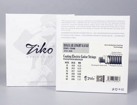 Ziko DNC-0942 Extra Light Special Nickel Coated Electric Guitar Strings