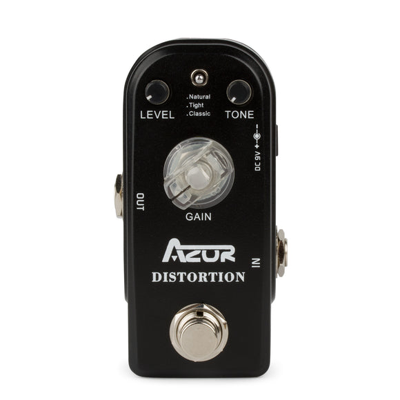 AZOR AP-302 Mini Distortion Effects Pedal