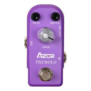 AZOR AP-317 Mini Tremolo Effects Pedal