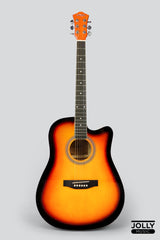 Caravan HS-4111 Dreadnought 41 Acoustic Guitar